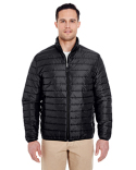 8469 UltraClub Adult Quilted Puffy Jacket