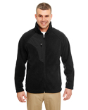 8495 UltraClub Men's Microfleece Full-Zip Jacket