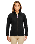 8498 UltraClub Ladies' Microfleece Full-Zip Jacket