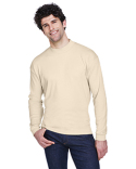 8510 UltraClub Adult Egyptian Interlock Long-Sleeve Mock Turtleneck