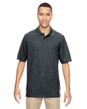 85121 Ash City - North End Men's Excursion Nomad Performance Waffle Polo