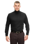 8516 UltraClub Adult Egyptian Interlock Long-Sleeve Turtleneck