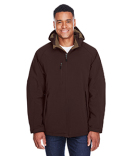 88159 Ash City - North End Men's Glacier Insulated Three-Layer Fleece Bonded Soft Shell Jacket with Detachable Hood