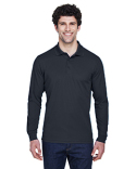 88192T Ash City - Core 365 Men's Tall Pinnacle Performance Long-Sleeve Piqué Polo