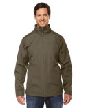 88212 Ash City - North End Men's Forecast Three-Layer Light Bonded Travel Soft Shell Jacket