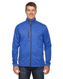88213 Ash City - North End Men's Trace Printed Fleece Jacket
