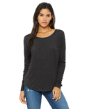 8852 Bella + Canvas Ladies' Flowy Long-Sleeve T-Shirt with 2x1 Sleeves