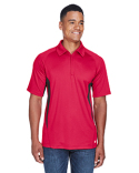 88657 Ash City - North End Men's Serac UTK cool?logik™ Performance Zippered Polo