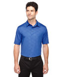 88659 Ash City - North End Men's Maze Performance Stretch Embossed Print Polo