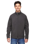 88801 Ash City - North End Men's Skyscape Three-Layer Textured Two-Tone Soft Shell Jacket