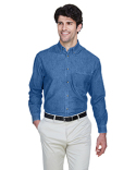 8960 UltraClub Men's Cypress Denim with Pocket