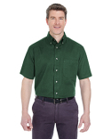 8965C UltraClub Adult Cypress Short-Sleeve Twill with Pocket