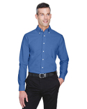 8970T UltraClub Men's Tall Classic Wrinkle-Resistant Long-Sleeve Oxford