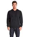 9601 Next Level Adult French Terry Full-Zip Hooded Sweatshirt
