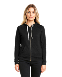 9603 Next Level Ladies' PCH Raglan Zip Hoody