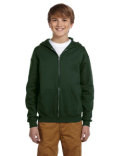 993B Jerzees Youth 8 oz. NuBlend® Fleece Full-Zip Hood