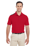 A233 adidas Golf Men's 3-Stripes Shoulder Polo
