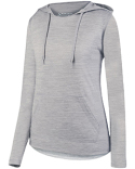 AG2907 Augusta Sportswear Ladies' Shadow Tonal Heather Hoodie