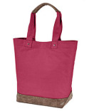 AP1921 Authentic Pigment Canvas Resort Tote