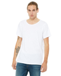 B3014 Bella + Canvas Men's Jersey Raw Neck T-Shirt