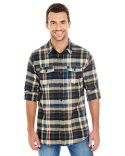 B8210 Burnside Men's Plaid Flannel