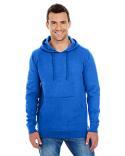 B8609 Burnside Men's Injected Slub Yarn-Dyed Fleece Hoodie