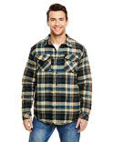 B8610 Burnside Adult Quilted Flannel Jacket