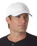 BA3617 Bayside Washed Cotton Unstructured Sandwich Cap