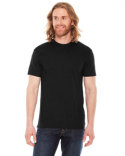 BB401 American Apparel Unisex Poly-Cotton USA Made Crewneck T-Shirt