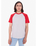 BB4237W American Apparel Unisex Poly-Cotton Raglan T-Shirt