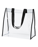 BE252 BAGedge Clear PVC Tote