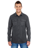 BU8200 Burnside Men's Solid Flannel
