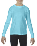 C3483 Comfort Colors Youth Garment-Dyed Long-Sleeve T-Shirt