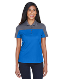 CE101W Ash City - Core 365 Ladies' Balance Colorblock Performance Piqué Polo