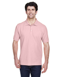 D100 Devon & Jones Men's Pima Piqué Short-Sleeve Polo
