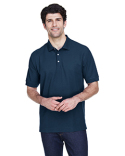 D100T Devon & Jones Men's Tall Pima Piqué Short-Sleeve Polo