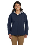 D998W Devon & Jones Ladies' Soft Shell Hooded Jacket