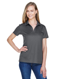 DG20W Devon & Jones CrownLux Performance™ Ladies' Plaited Polo
