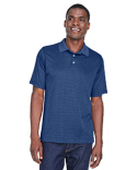 DG210 Devon & Jones Men's Pima-Tech™ Jet Piqué Heather Polo