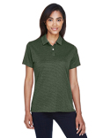 DG210W Devon & Jones Ladies' Pima-Tech™ Jet Piqué Heather Polo