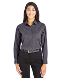 DG535W Devon & Jones CrownLux Performance™ Ladies' Tonal Mini Check Shirt