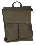 DI1041 Dri Duck Waxed Cotton Commuter Canvas Backpack