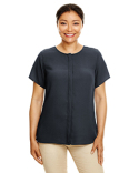 DP612W Devon & Jones Ladies' Perfect Fit™  Short-Sleeve Crepe Blouse