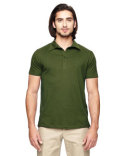 EC2505 econscious Men's 4.4 oz., 100% Organic Cotton Jersey Short-Sleeve Polo