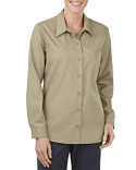 FL5350 Dickies Ladies' Industrial Long-Sleeve Work Shirt
