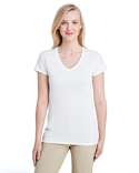 G47V Gildan Ladies' Performance® Ladies' 4.7 oz. V-Neck Tech T-Shirt