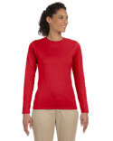 G644L Gildan Ladies' Softstyle®  4.5 oz. Long-Sleeve T-Shirt