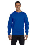 G840 Gildan Adult 5.5 oz., 50/50 Long-Sleeve T-Shirt