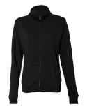 JA8635 J America Ladies Sueded Fleece Full Zip Jacket