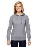 JA8860 J America Ladies' Glitter French Terry Hood